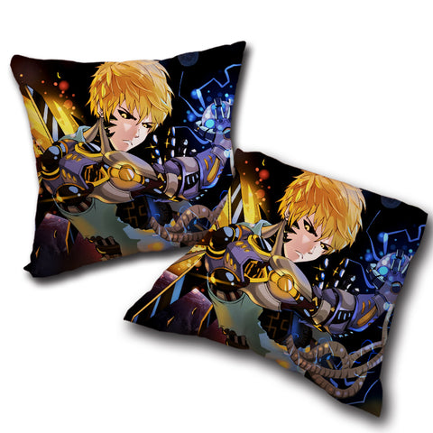 Pillow One Punch Man double side printed 17.7x17.7in ( 45x45 cm)