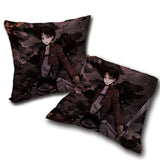Pillow Attack on titan double side printed 17.7x17.7in ( 45x45 cm)