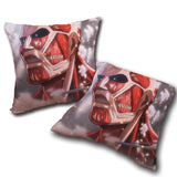 Pillow Attack on titan double side printed 19.7x19.7in ( 50x50 cm)
