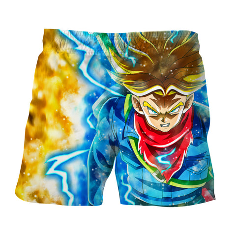 Dragon Ball Trunks Super Saiyan Anger