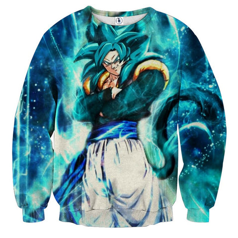 Sweater Dragon Ball Son Goku super saiyan 5 prestige
