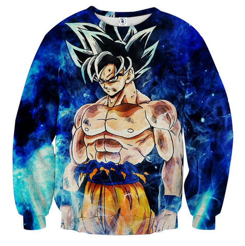 Sweater Dragon Ball Son Goku focus