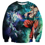 Sweater Dragon Ball Vegito versus Zamasu