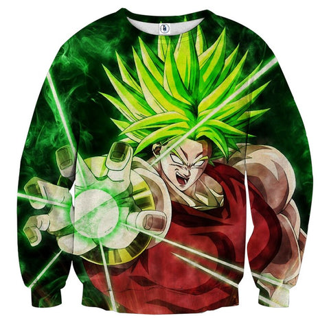 Sweater Dragon Ball Broly