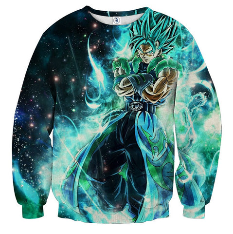 Sweater Dragon Ball Vegito God preparation