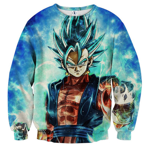 Sweater Dragon Ball Vegito God Ready