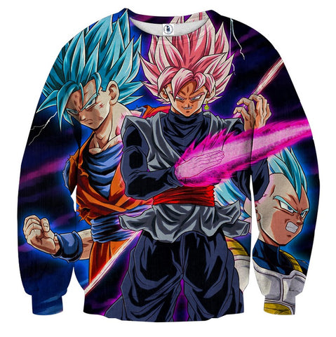 Sweater Dragon Ball Trio