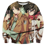 Sweater Attack on titan always together