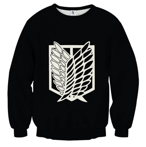 Sweater Attack on titan Wings of liberty Logo