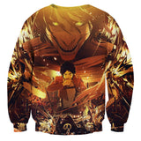Sweater Attack on titan Transformation