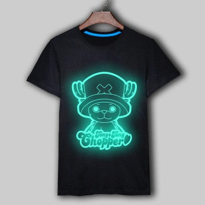 T-shirt blue fluorescence Tony Tony Chopper
