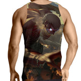 Tank Top Attack on titan Armored Titan destroying
