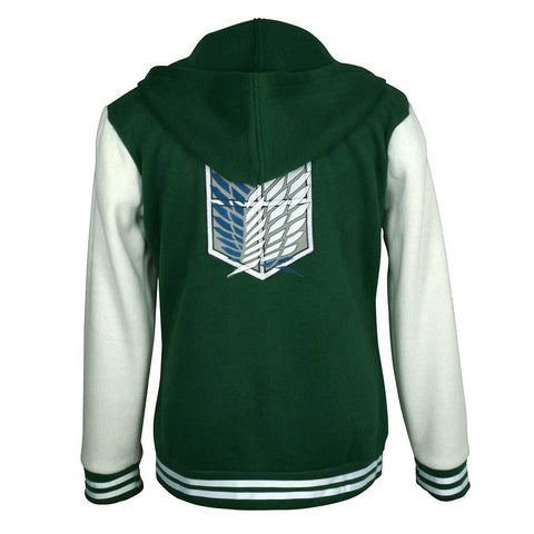 Jacket baseball inspiration attack on titan Survey cops