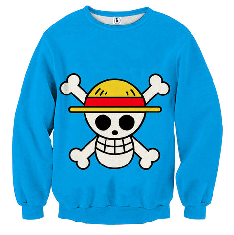 Sweater Gomugomu Straw hat crew logo