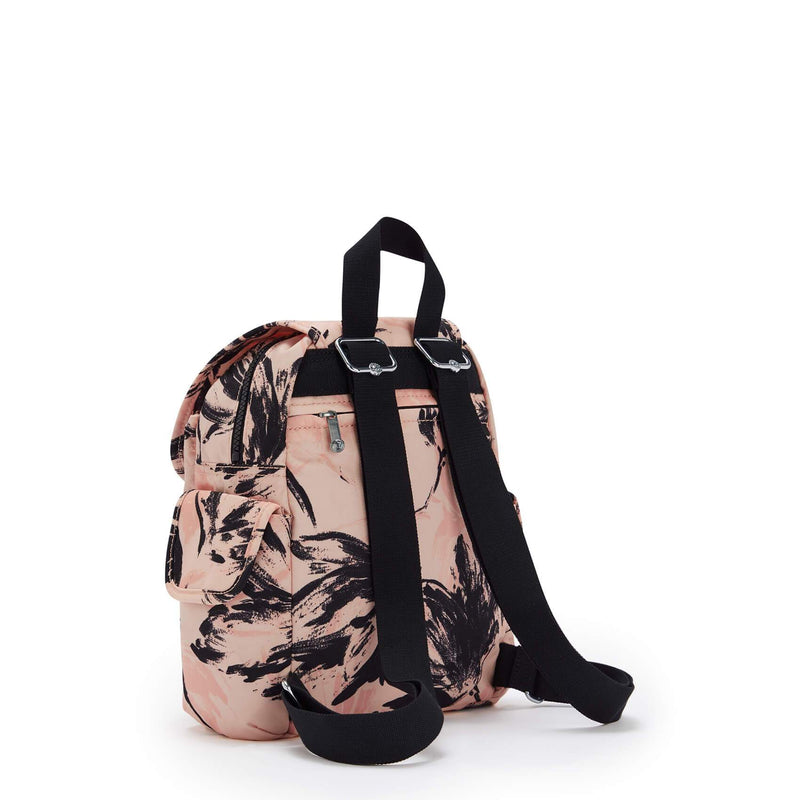 Backpack Kipling City Pack Mini Coral Flower KI4628TQ9