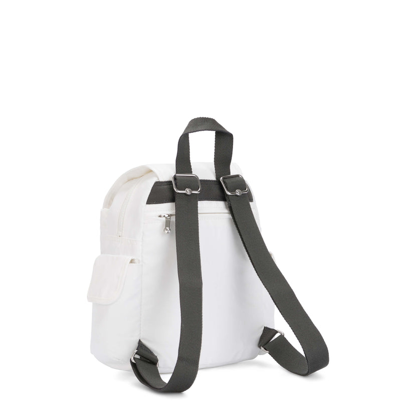 Backpack Kipling City Pack Mini White Metallic KI267147I