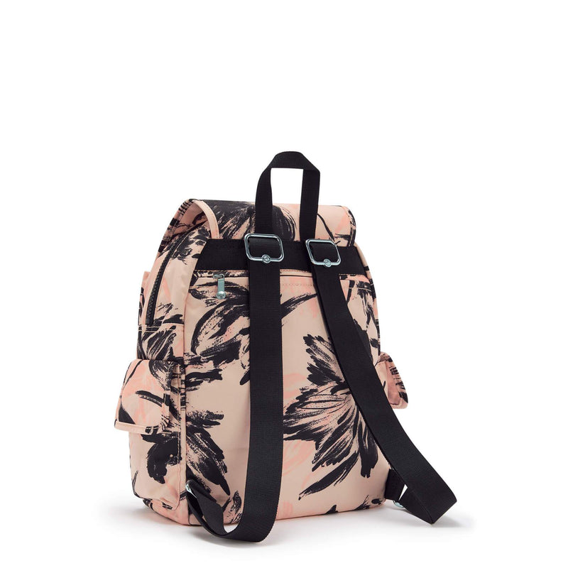 Backpack Kipling City Pack S Coral Flower KI4581TQ9