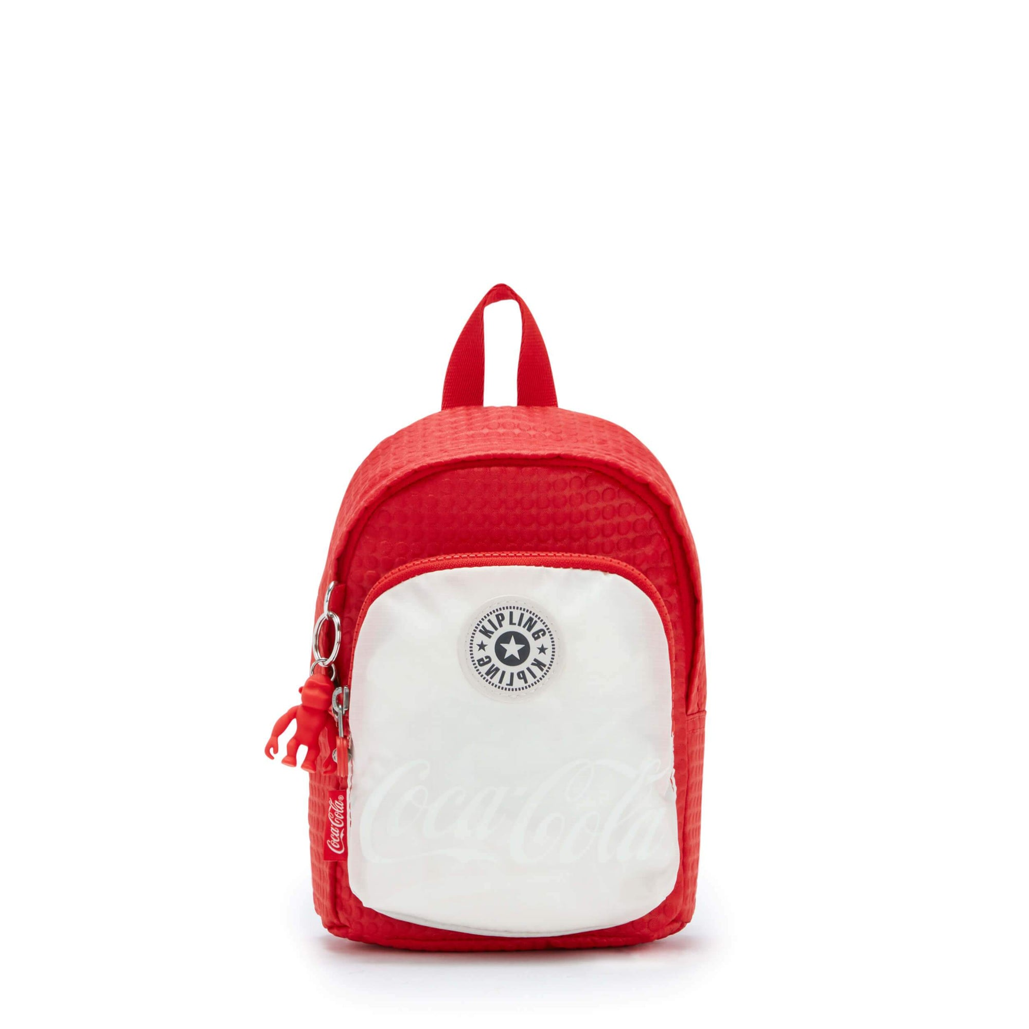 Backpack Kipling Delia Compact - Coca Cola CC Wild Red KI64090EV