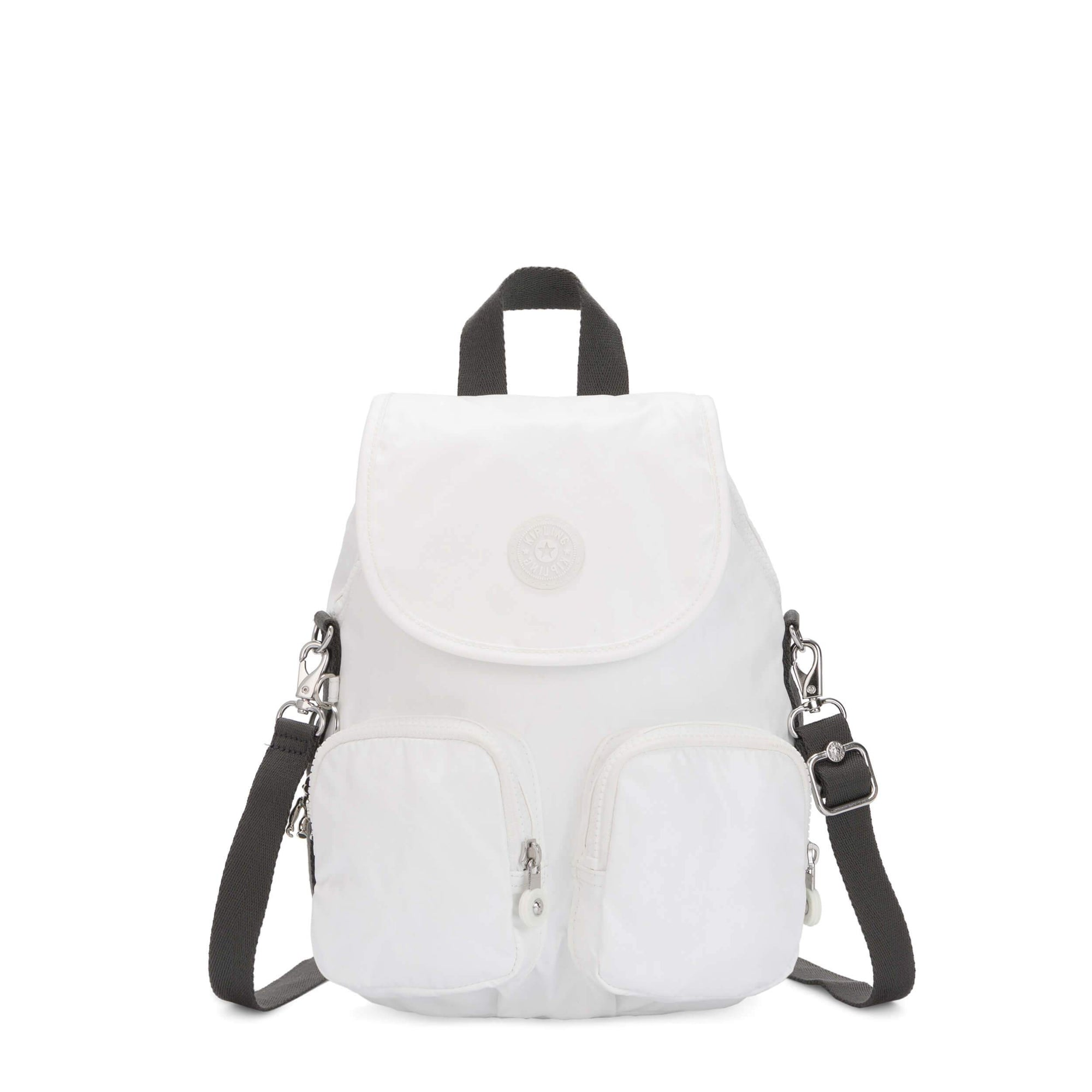 Backpack Mini Kipling Firefly Up White Metallic K2351247I
