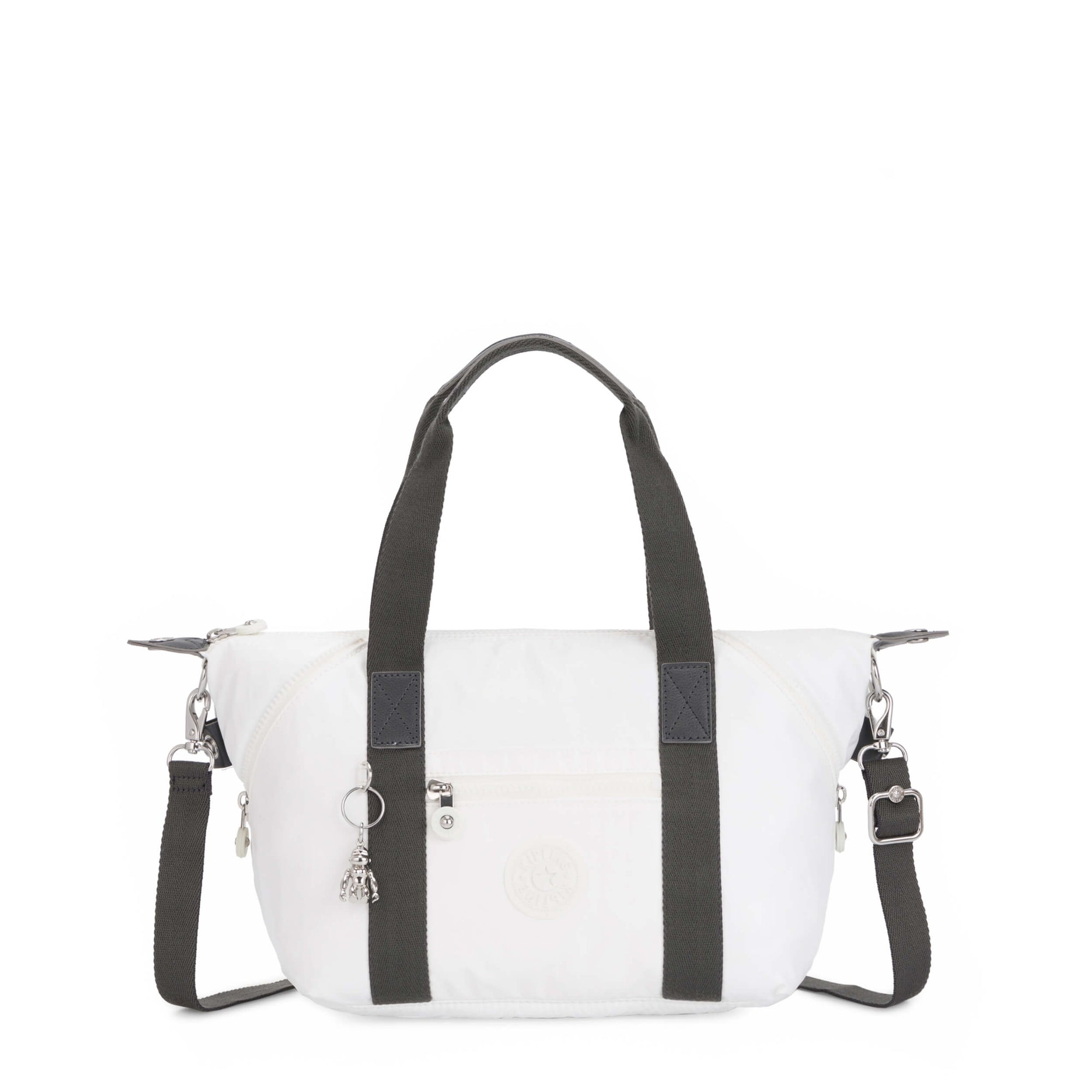 Bolsa Kipling Art Mini White Metallic K1541047I