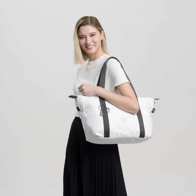 Bolsa Kipling Art White Metallic K2109147I