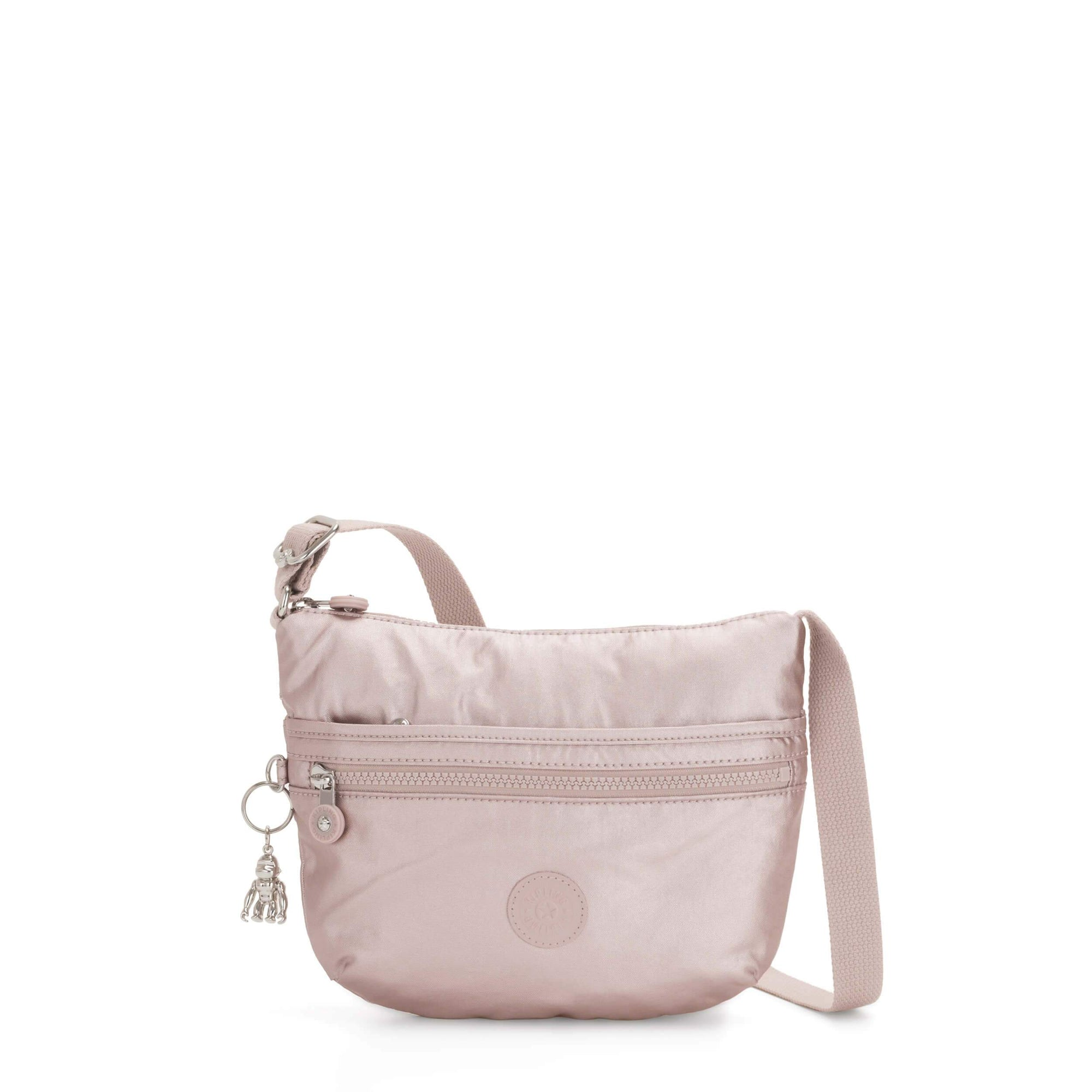 Bolsa Mini Kipling Arto S Metallic Rose
