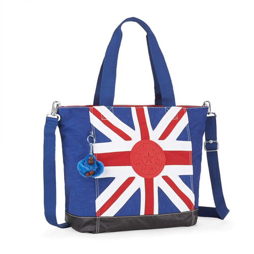 Bolsa Kipling Shopper Combo Union Jack