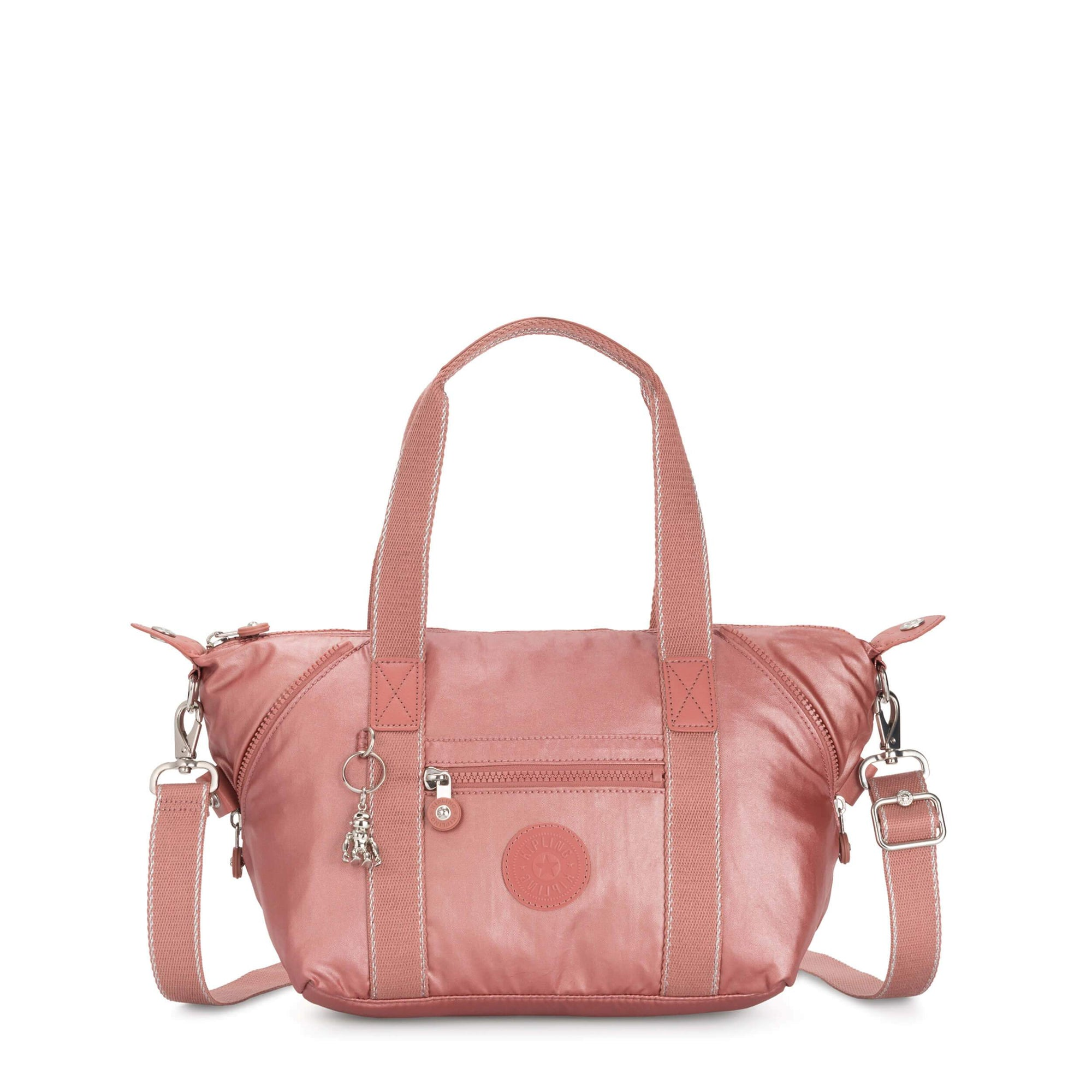 Bolsa Kipling Art Mini Metallic Rust K1541048P