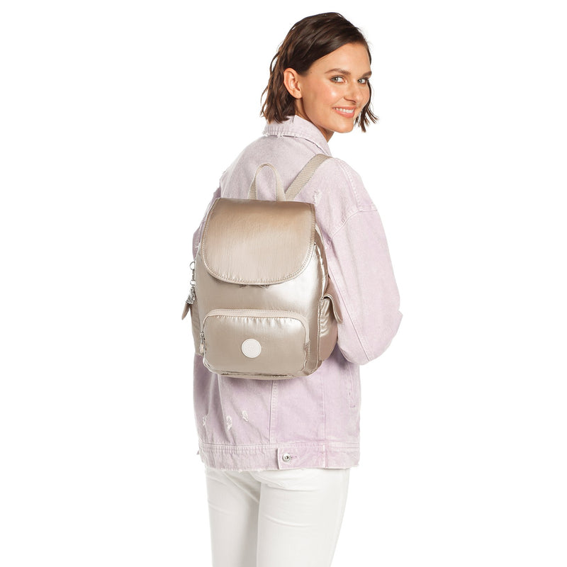 Backpack Kipling City Pack S Metallic Glow K1564148I