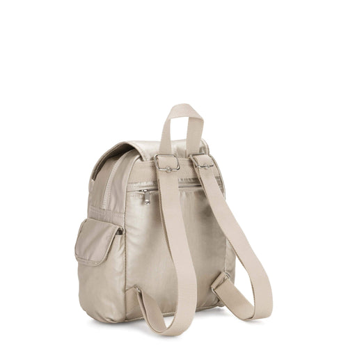 Backpack Kipling City Pack Mini Cloud Metal