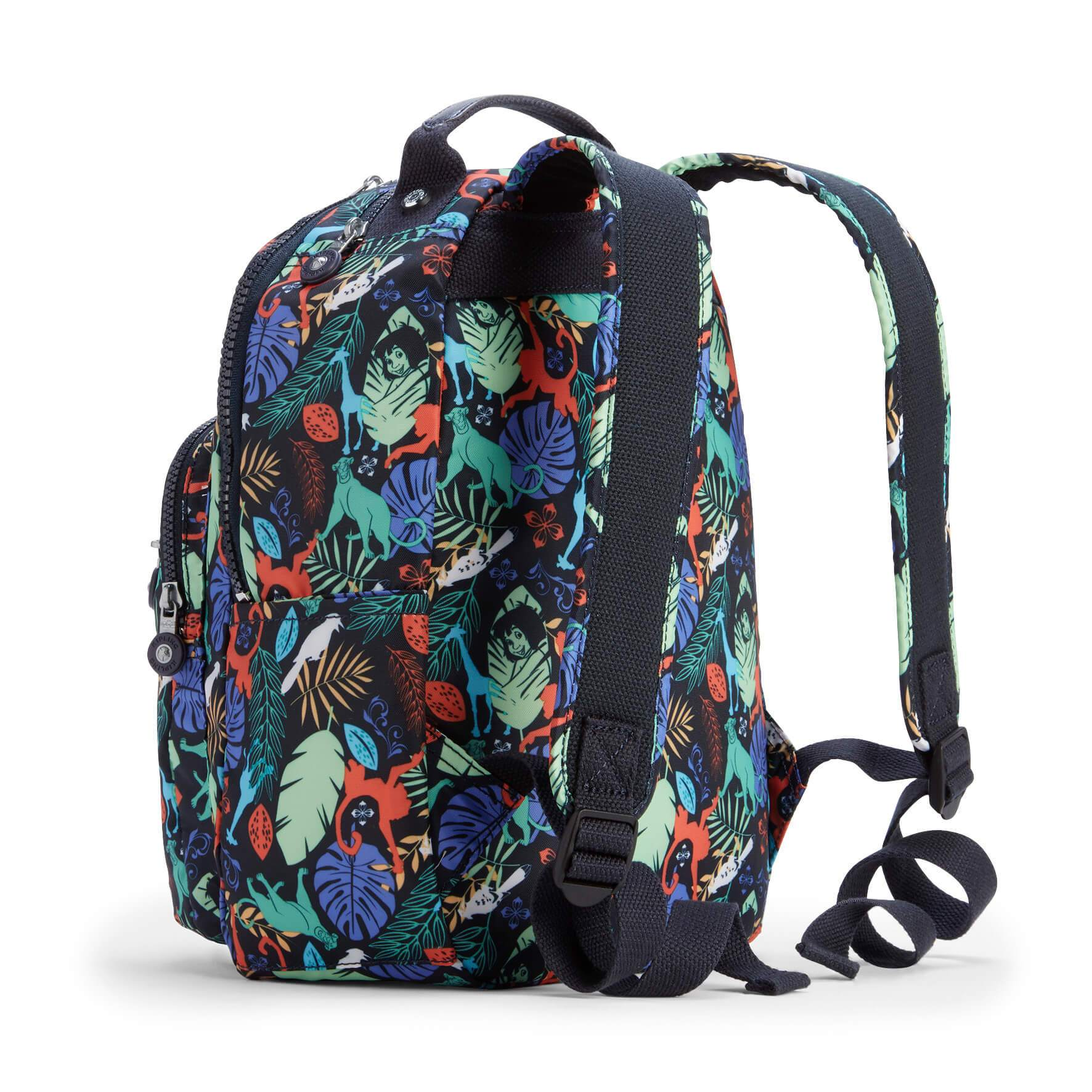 Mochila Kipling Seoul Go S - Jungle Book