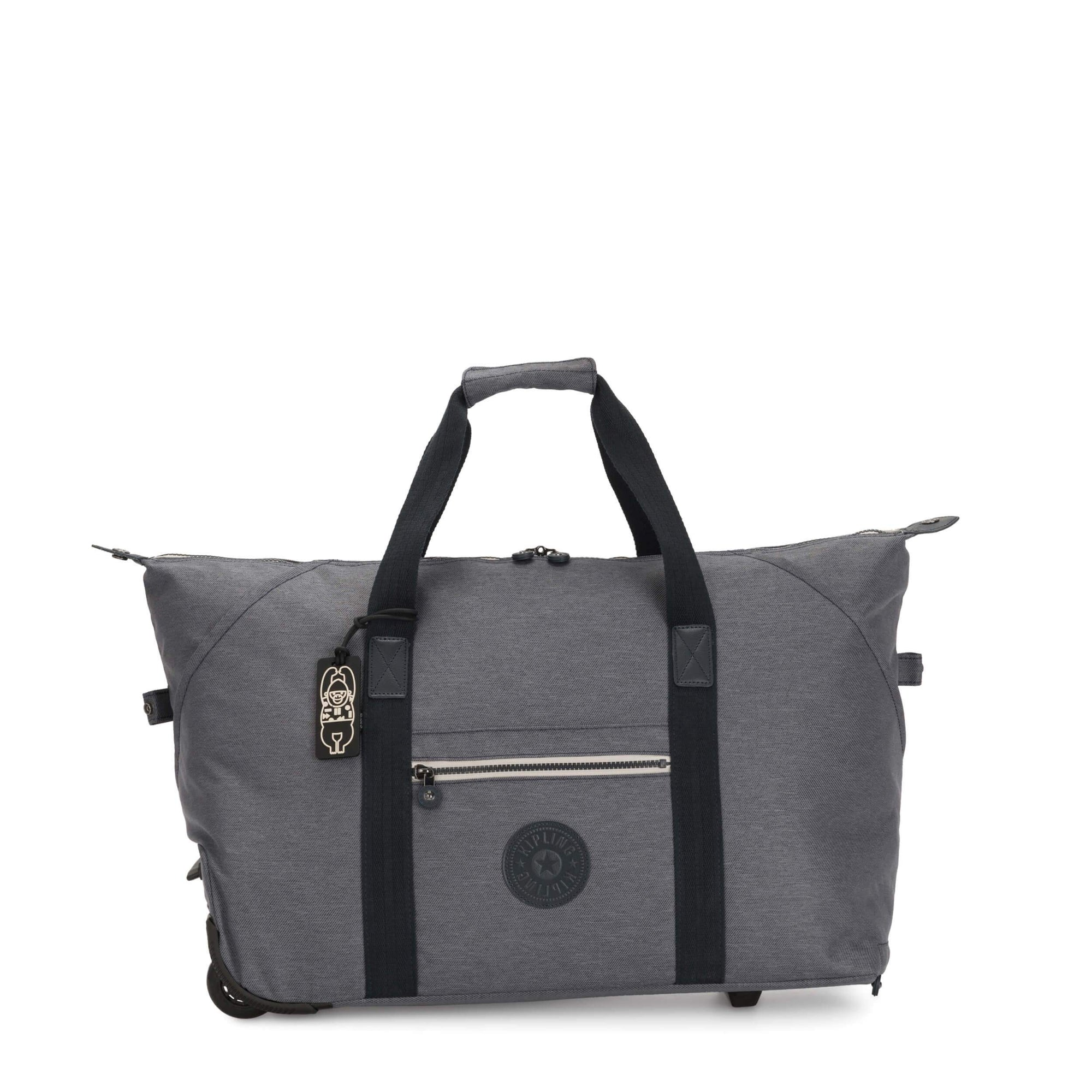 Maleta Kipling Art On Wheels Charcoal KI292129V