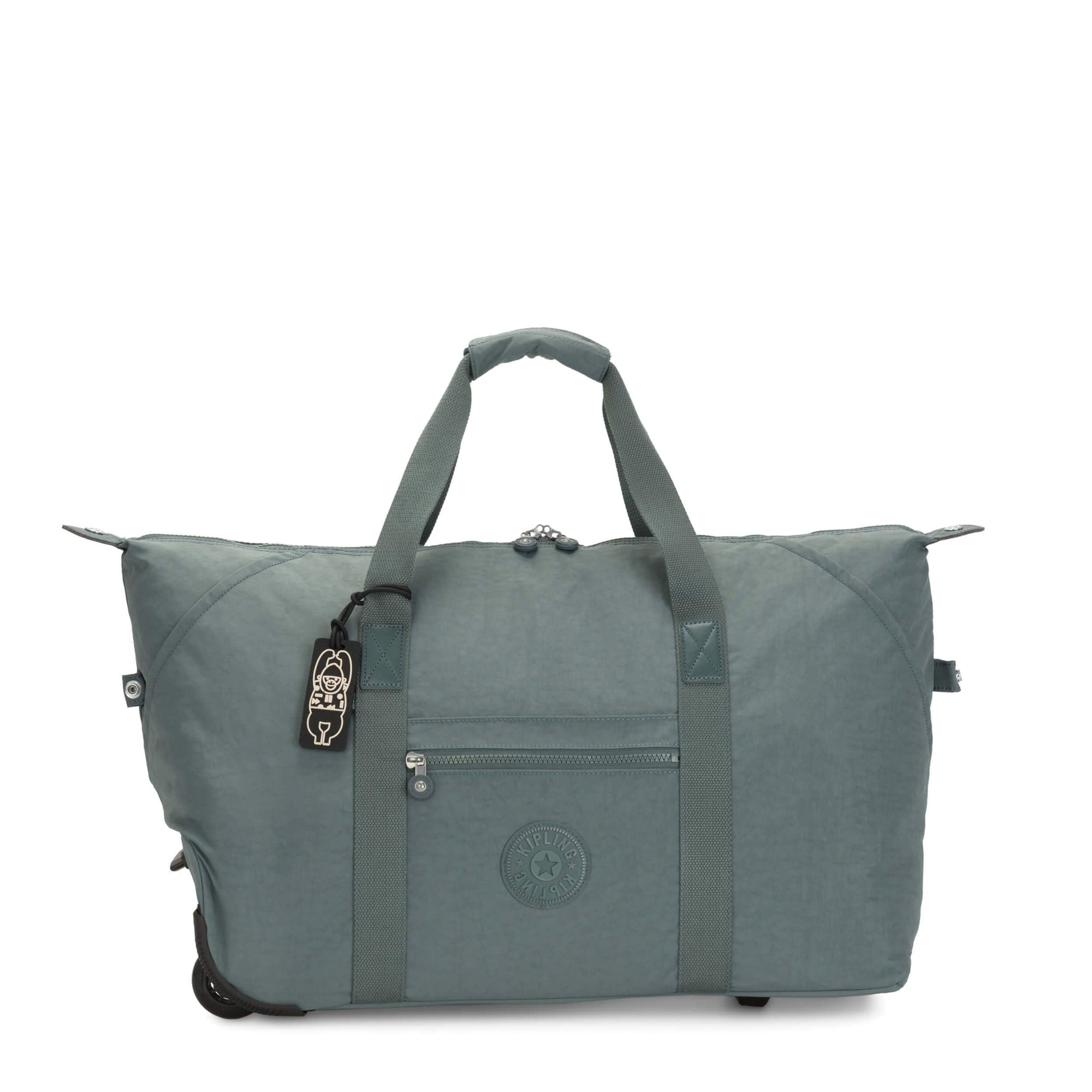 Maleta Kipling Art On Wheels M Light Aloe KI313147V