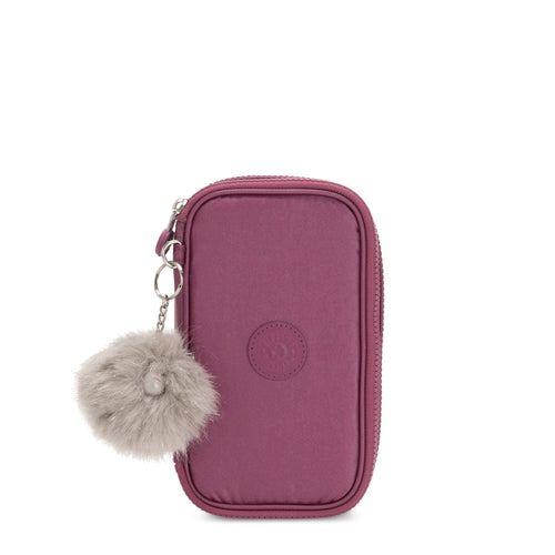 Estuche Kipling 50 Pens Fig Purple Met