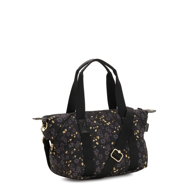 Bolsa Kipling Art Mini - Lunar Year Grey Gold Fl