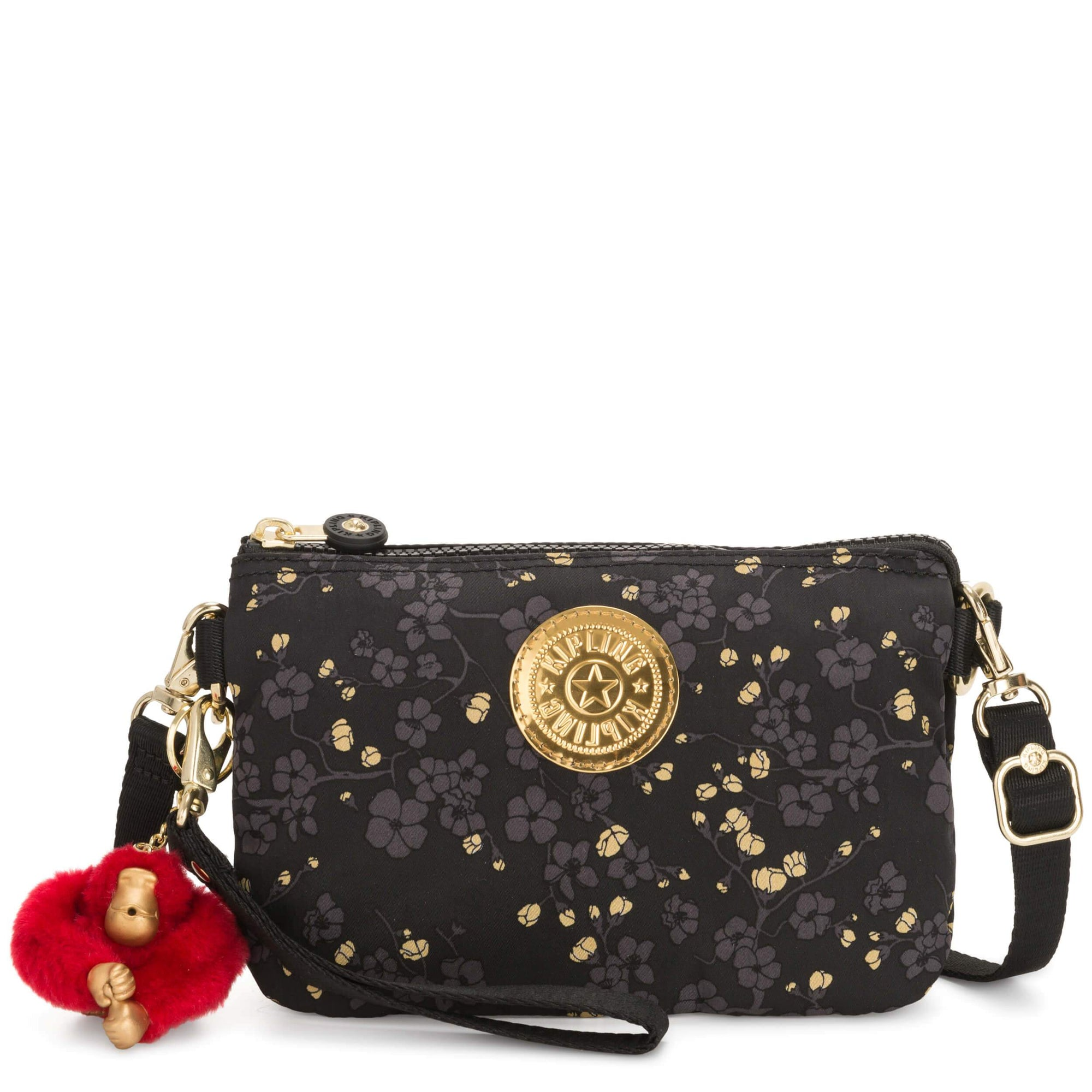 Bolsa Kipling Creativity Xl X - Lunar Year Grey Gold Fl