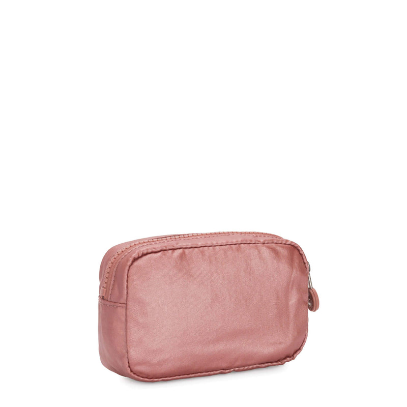 Cosmetiquera Kipling Gleam S Metallic Rust KI630048P