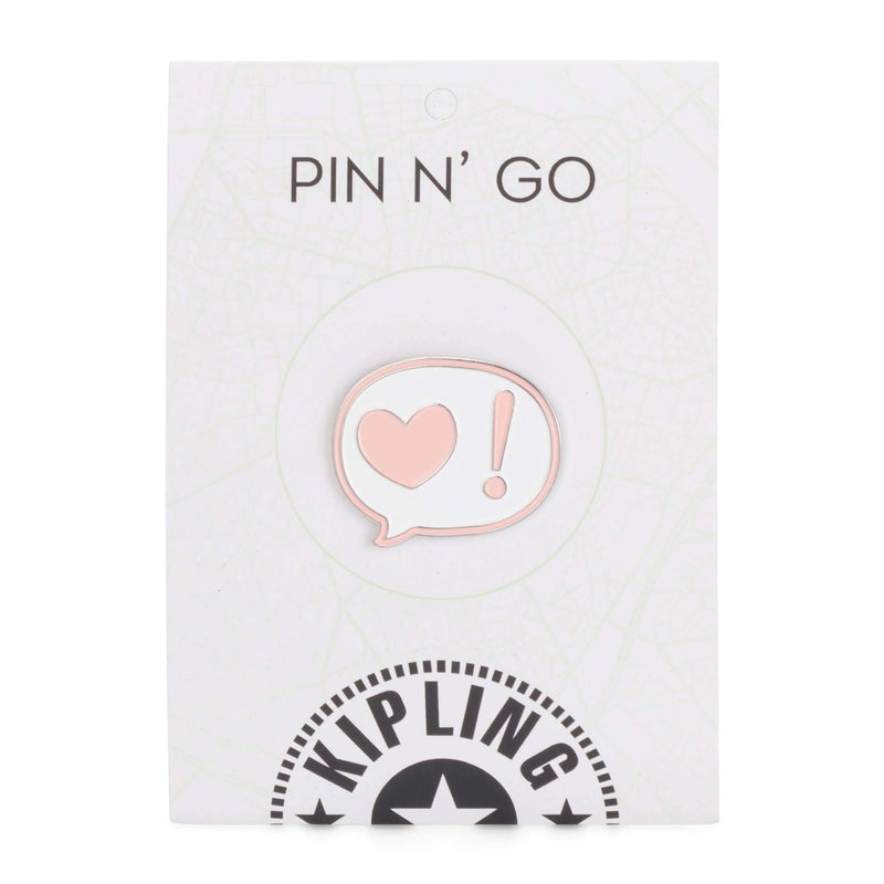 Kipling Talking Heart Pin Mix Col SS20 KI7039Q54
