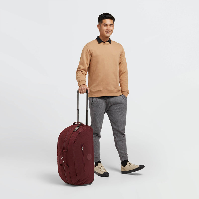Maleta Kipling Devin on Wheels Intense Maroon KI7063T89