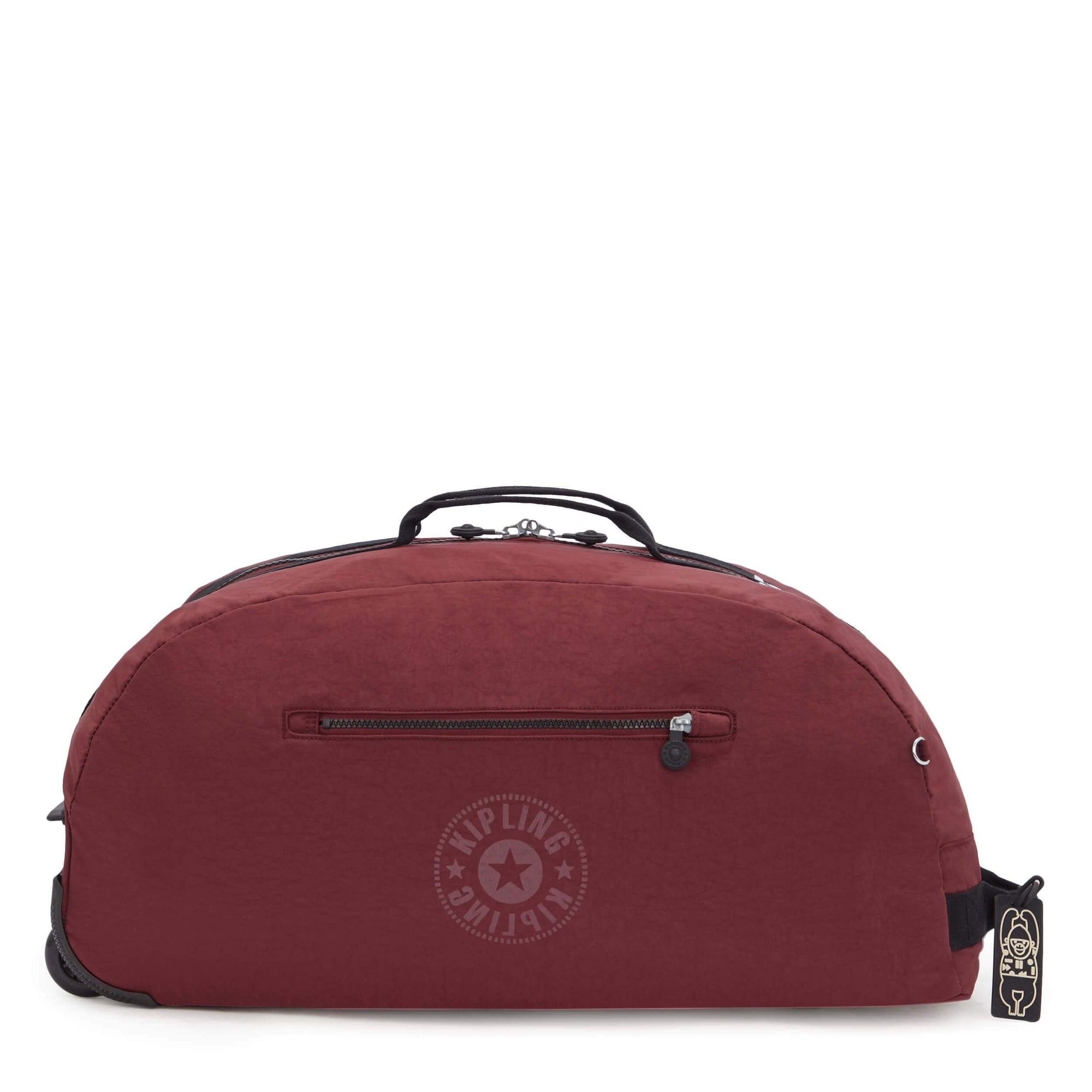 Maleta Kipling Devin on Wheels Maroon Black KI5535T31