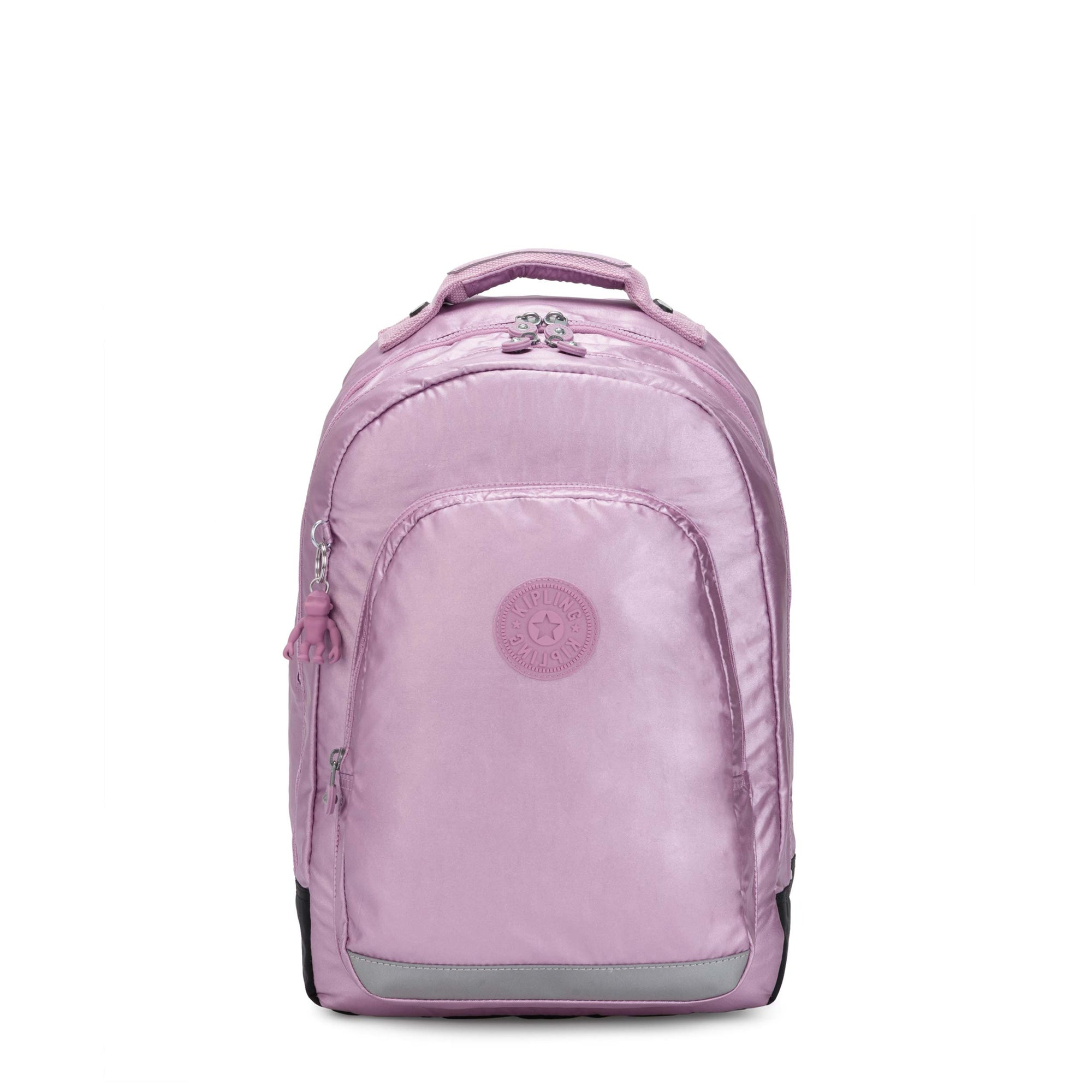 Mochila Kipling Class Room Metallic Berry KI521387M