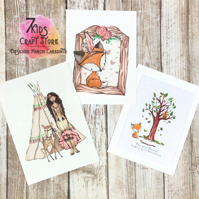 7 Kids Woodland Collection