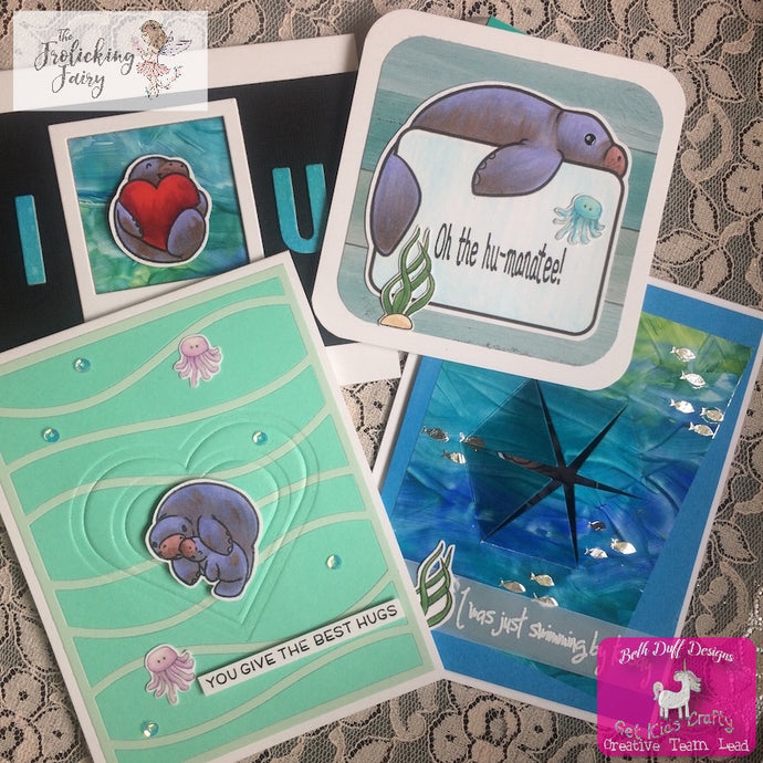 Beth Duff Designs first release with Manatees!