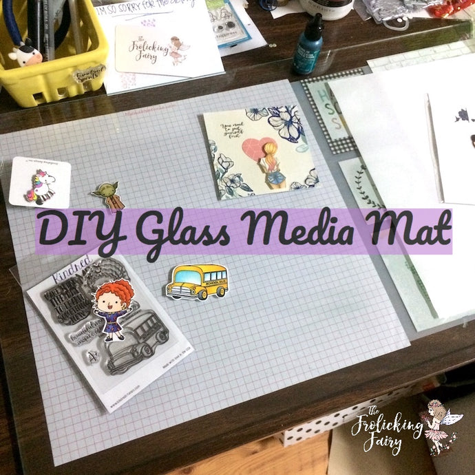 Tutorial:  DIY Glass Media Mat