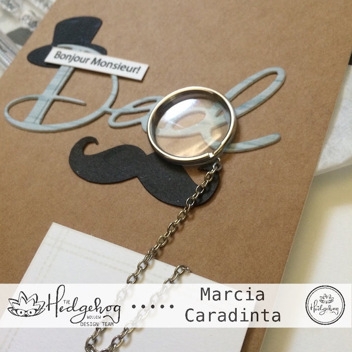 The Hedgehog Hollow June Kit: Mr. Monocle Mustache