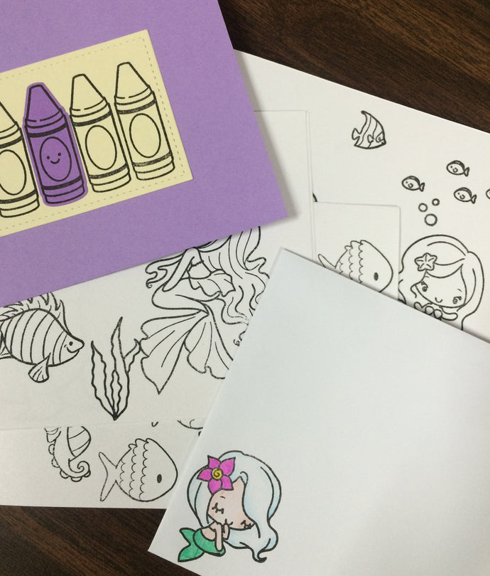 Store Add-on: Custom mini-coloring books