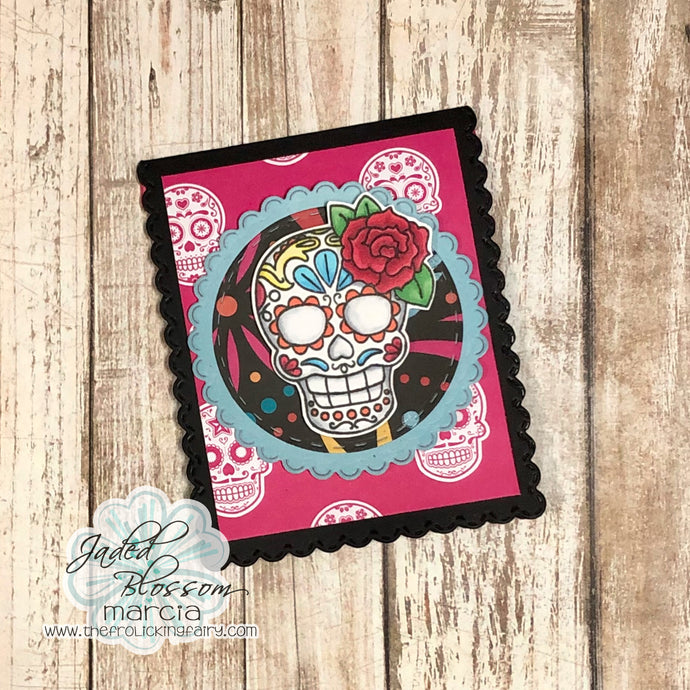 Day Of the Dead Mini Card