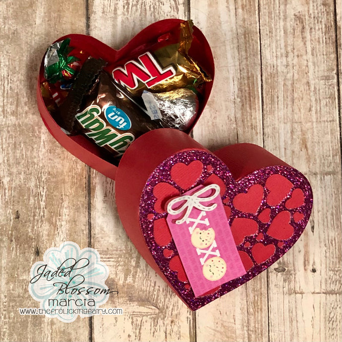 Fancy Heart Treat Box