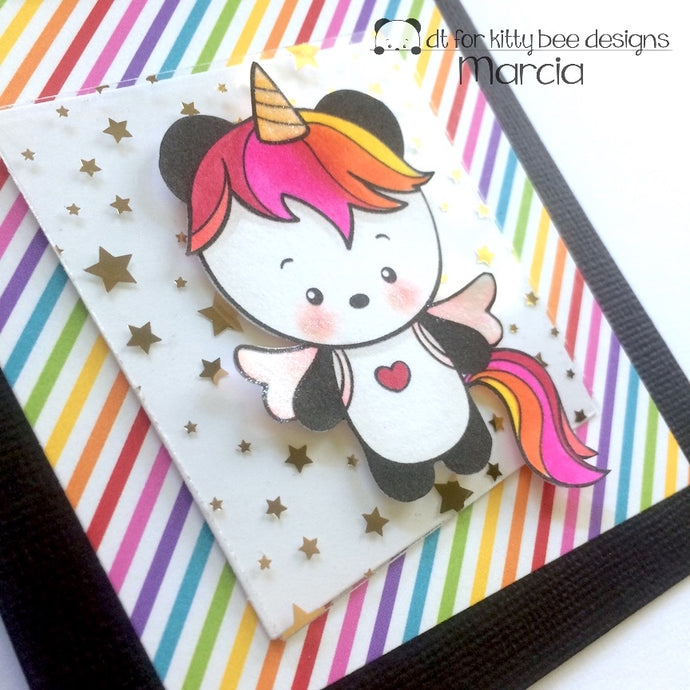 Kitty Bee Designs Spotlight: Unicorn Panda