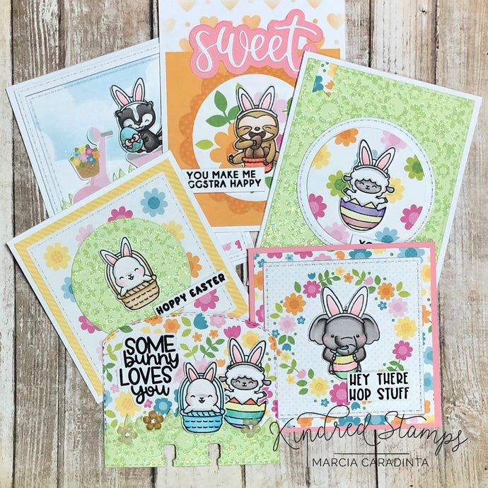 Kindred Stamps: Bunny Buddies